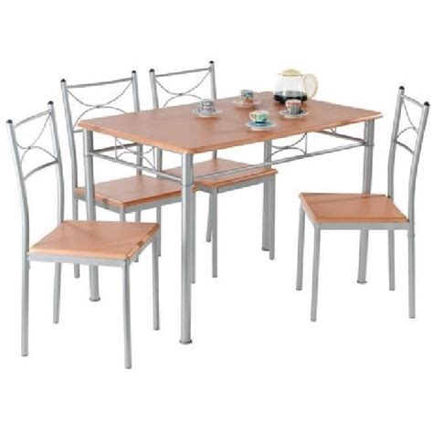 Table Et Chaises by Lot Table 4 Chaises Quot Anapurna Quot Achat Vente Chaise