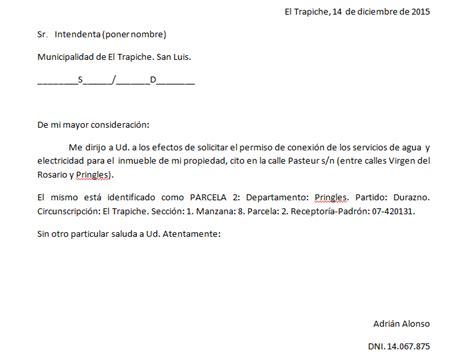 Hacer solicitud dirigida al señor alcalde municipal. SOLICITUD DE CONEXIÓN DE SERVICIOS   MÓDULO DE TECNOLOGÍA ADAPTADO