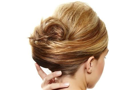 easy glamorous updos  medium length hair