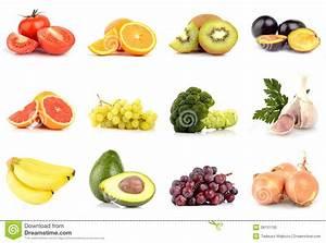 Gemüse Bilder Zum Ausdrucken : satz obst und gem se lokalisiert auf wei stockfoto bild ~ A.2002-acura-tl-radio.info Haus und Dekorationen