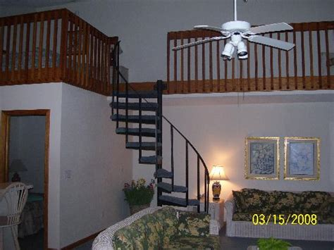 spiral staircase for loft spiral staircase to loft picture of dunes south nags head tripadvisor
