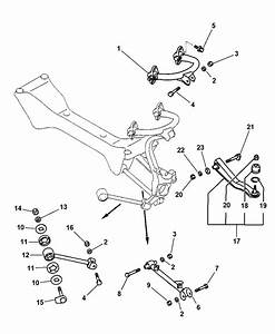 Rear Suspension Arm And Related Parts For 2002 Dodge