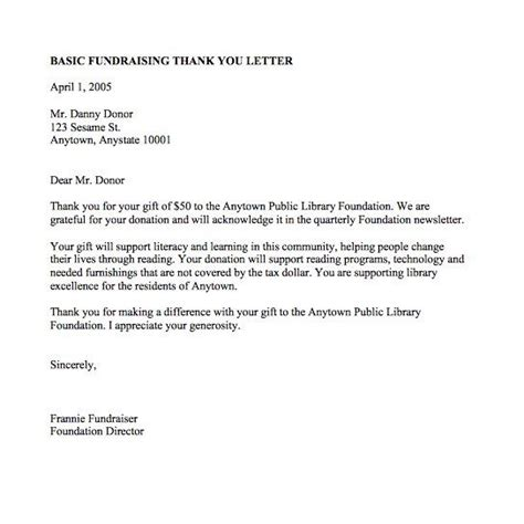 Thank You Letter Template by Thank You Letter Templates For Scholarship Donation