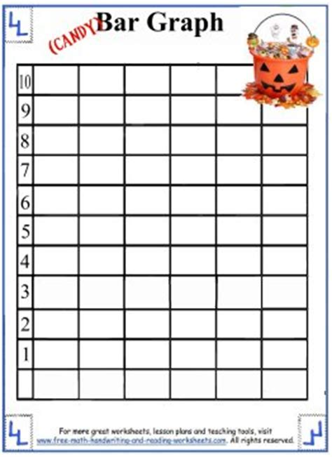 Halloween Graphing Activity Worksheet  Festival Collections