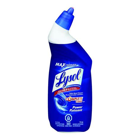 lysol power free bathroom cleaner buy lysol power toilet bowl cleaner 710 ml from value valet