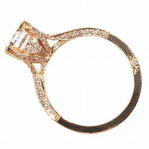 rose gold engagement ring with diamonds by simply tacori With tacori wedding rings rose gold