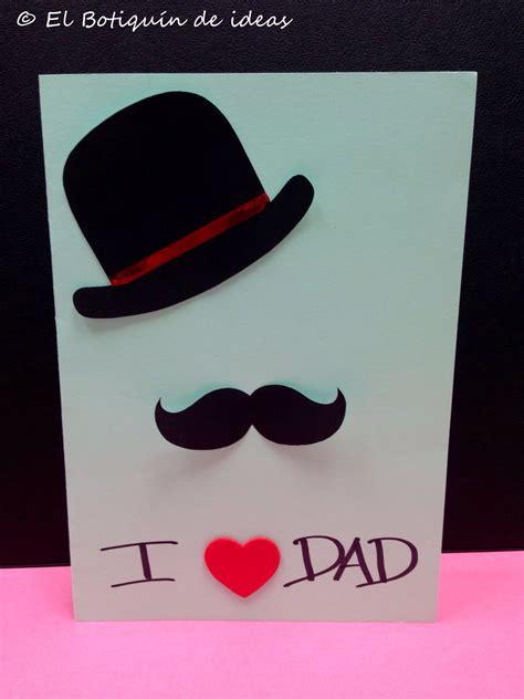 tarjetas de bigote para pap tarjeta de felicitaci 243 n para el d 237 a padre ii