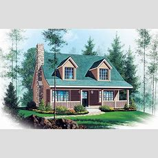Two Story Vacation Home Plan  2262sl  Architectural