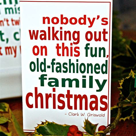 national lampoons christmas vacation printable  quote