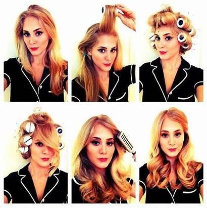 Hair Rollers Roller Retro Curls Hairstyles Tutorials