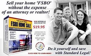 do it yourself fsbo or 39for sale by owner39 legal software With do it yourself legal documents