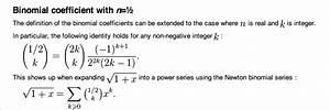 Binomialkoeffizienten Berechnen : berechnen sie die folgenden verallgemeinerten binomialkoeffizienten 0 5 tief 4 und i tief 3 ~ Themetempest.com Abrechnung