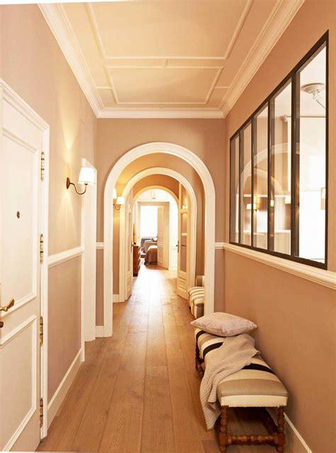 decorar pasillos estrechos decoracion modelos pintar