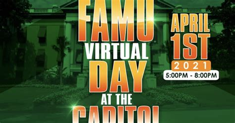 'FAMU Day At The Capitol' goes virtual April 1
