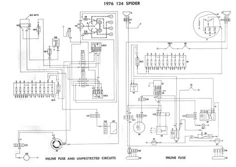 Fiat Coupe 20v Wiring Diagram by 1976 Fiat Spider Wiring Diagrams