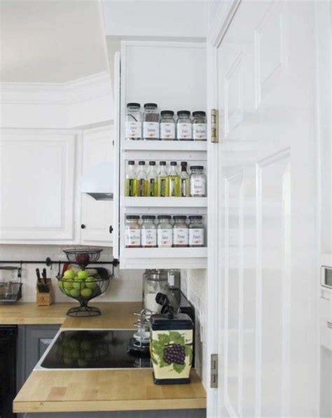 spice organizers for kitchen cabinets kitchen cabinets organizers that keep the room clean and tidy 8188