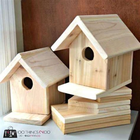 fabrication nichoirs pour oiseaux jett