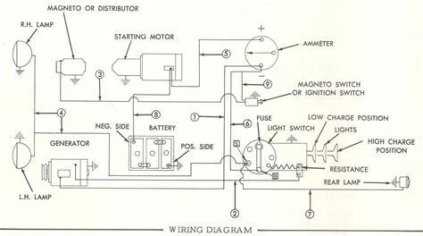 massey ferguson 135 parts diagram massey ferguson 35 gas wiring diagram 6 volt diy enthusiasts