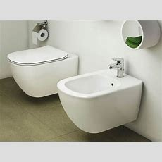 Ceramica Ideal Standard Sanitari.Ideal Standard Tesi Back To Wall Bidet T3501 White T350101