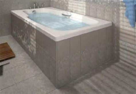 habillage baignoire a carreler elements 174 top tr habillage pour baignoire rectangulaire standard