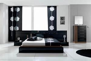 la decoration noir et blanc vous surprenda avec style et With deco de chambre noir et blanc
