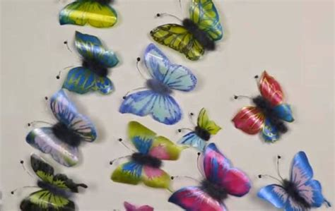 bastelideen mit plastikflaschen schmetterlinge aus plastikflaschen basteln deko ideen mit flora shop flora shop eu
