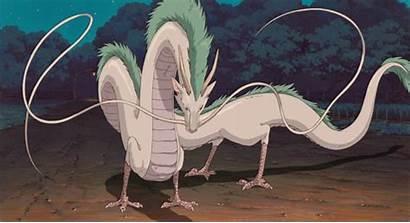 Spirited Away Haku Dragon Ghibli Kohaku Chihiro