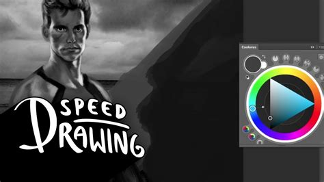 Speed Drawing: The Hunger Games: Catching Fire Finnick