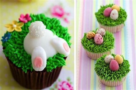 Decorating Ideas For Easter Cupcakes by Diy Easter Cupcake Ideas Home Design Garden