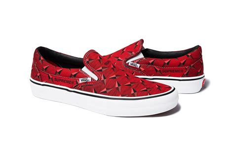 Vans X Supreme by Supreme X Vans Summer 2019 Collection The Source