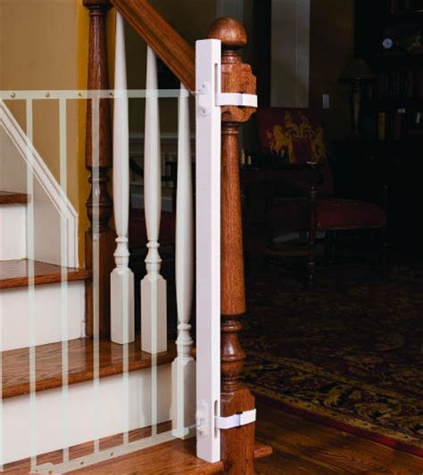 banister safety gate comparing the best baby gates for stairs top and bottom