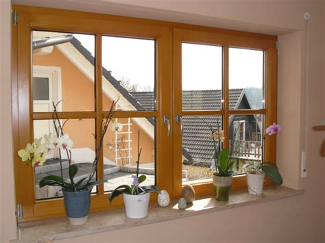 kunststofffenster oder alufenster holzfenster innen haus deko ideen