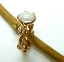 opal engagement ring opal engagement ring opal ring 14k yellow gold