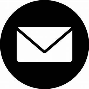 Circle  Messages  Email  Message  Mail  Letter  Inbox Icon