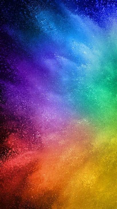 Rainbow Wallpapers Neon Phone Ombre