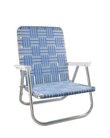 new folding aluminum webbed chair made in usa ebay