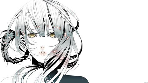 White Anime Wallpaper - anime white background ubuntu free