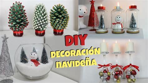 Diy  DecoraciÓn De Navidad  4 Ideas  Natygloss Youtube
