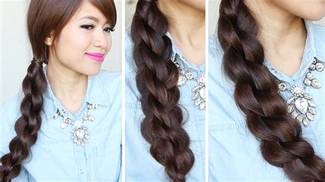 3d Split Twist Braid Tutorial