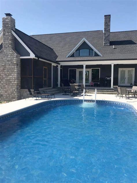 semi inground pools crown pools