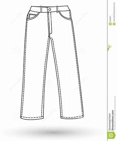 Pants Clipart Pant Layout Clip Suit Royalty