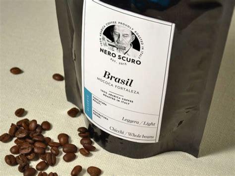 Caffè ranks 10th worldwide in terms of consumption. Nero Scuro - Italian Coffee Roastery Brand Identity
