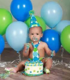 Boy 1st Birthday Smash Cake
