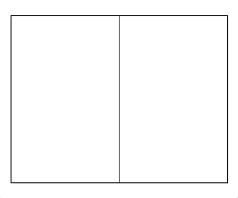 Two Fold Brochure Template Word by Blank Bi Fold Brochure Templates 24 Free Psd Ai
