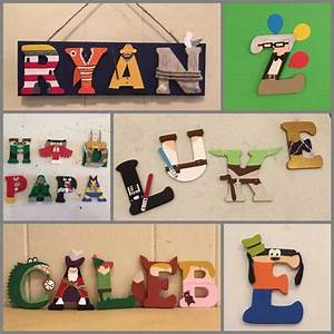 character wooden letters each wood letter is 3inches With star wars wooden letters