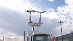 When overhead wires feed energy to trucks in California demo