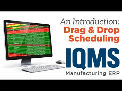 drag  drop scheduling software  manufacturing youtube
