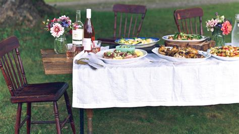 chef erin frenchs farm  table dinner party menu