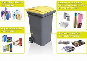 Poubelle De Tri Selectif : quoi mettre dans les poubelles jaunes ~ Farleysfitness.com Idées de Décoration