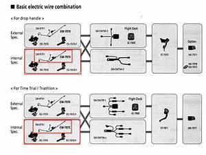 Shimano Shimano Di2 Wiring Harness Internal Routing Ew